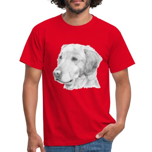 Golden retriever 2 - Herre-T-shirt