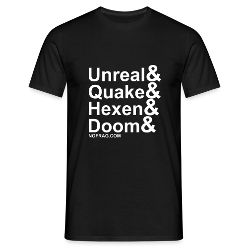 Unreal&Quake&Hexen&Doom - T-shirt Homme
