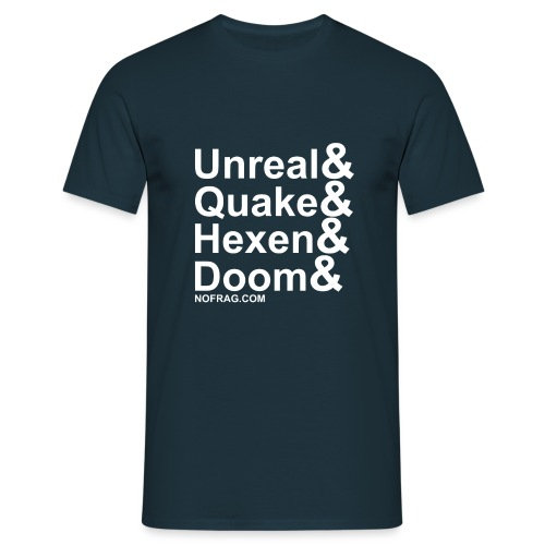 Unreal&Quake&Hexen&Doom - T-shirt Homme
