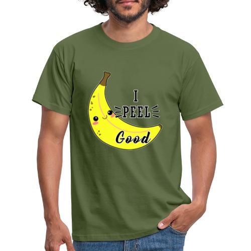 Banana divertente kawaii carina fumetto - Maglietta da uomo