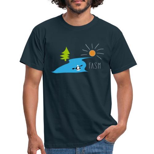 FASM - Kajakverein Design 2019 - Männer T-Shirt