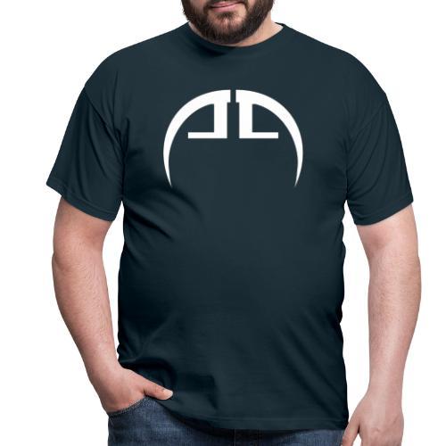 halb weiss - Männer T-Shirt