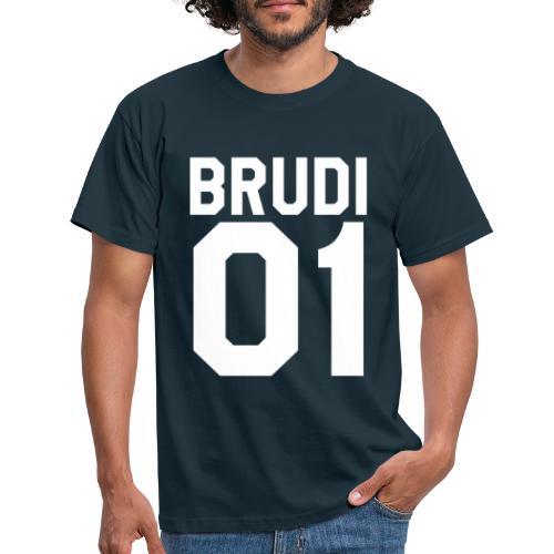 Brudi 01 Geschwister Beste Freunde Partnerlook - Männer T-Shirt