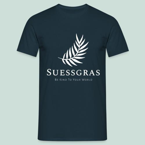 SUESSGRAS WHITE LEAF - Männer T-Shirt