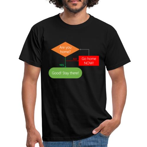 Are you home? - Men's T-Shirt