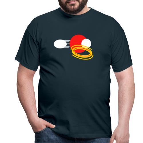 Crimson Power - Men's T-Shirt