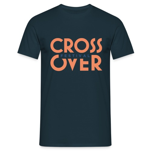 crossover 2019 festival logo couleur 01 - T-shirt Homme