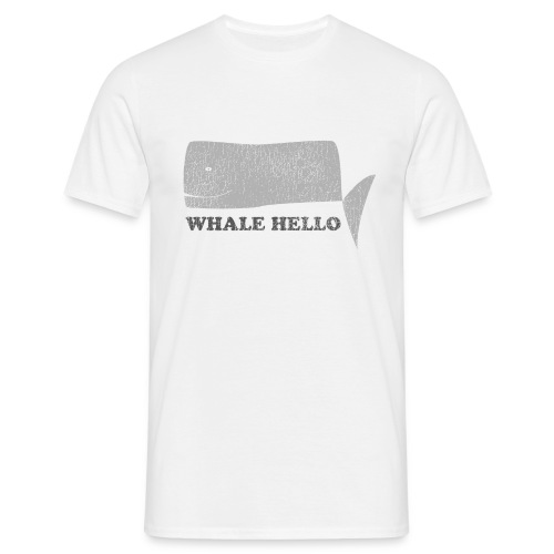 Whale Hello - Men's T-Shirt