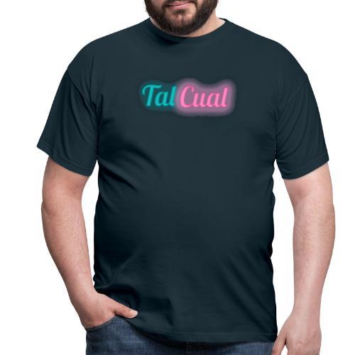 TalCual Logo Neón - Camiseta hombre