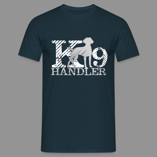K-9 Handler - German Shorthaired Pointer - Men's T-Shirt