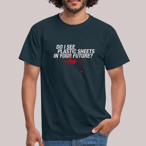 Dexter - plastic sheets - Mannen T-shirt