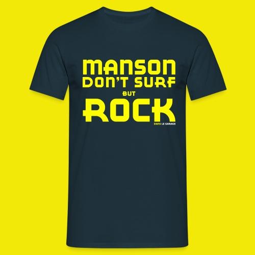 MANSON DON T SURF - T-shirt Homme