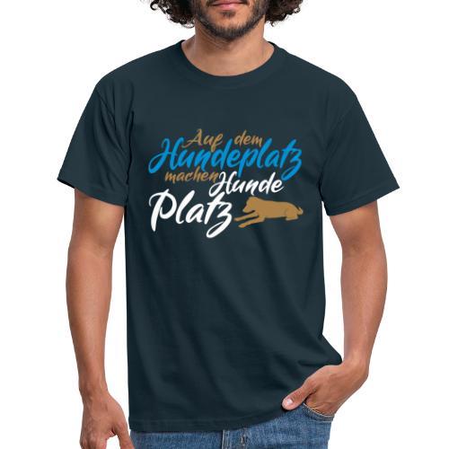 Hundeverein / Hundeplatz Geschenkidee Design Hunde - Männer T-Shirt