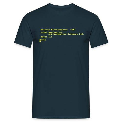 Amstrad 464 6128 PLUS (CPC) Vintage Retro Computer - Men's T-Shirt