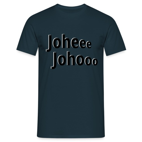 Premium T-Shirt Johee Johoo - Mannen T-shirt