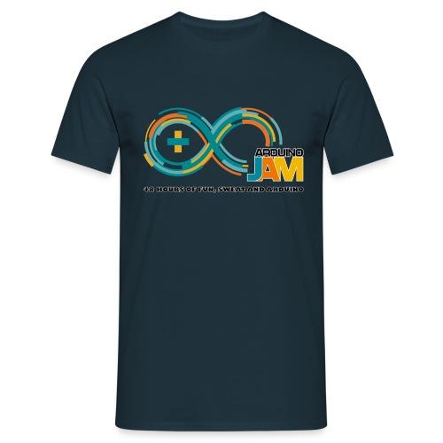 T-shirt front logo Arrduino-Jam - Men's T-Shirt