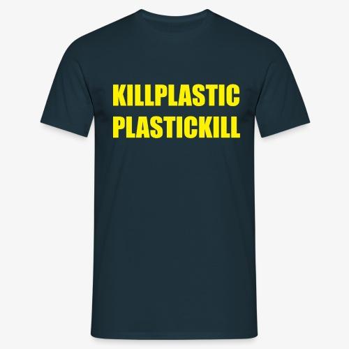 KILL PLASTIC - Maglietta da uomo