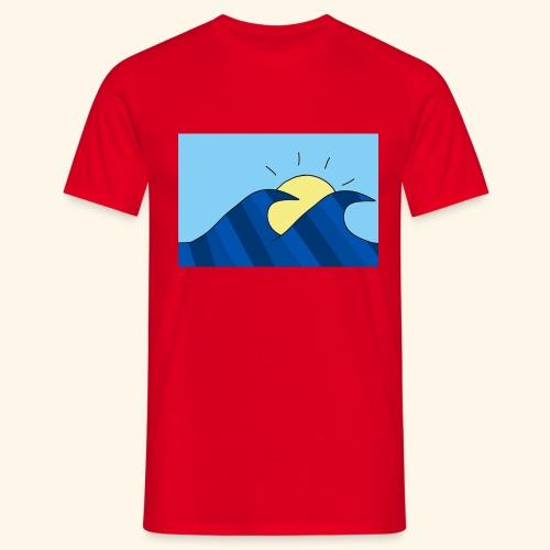 Espoir double wave - Men's T-Shirt
