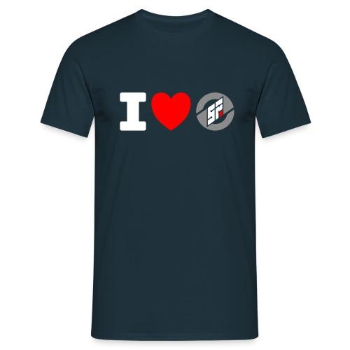 I <3 SF - Men's T-Shirt