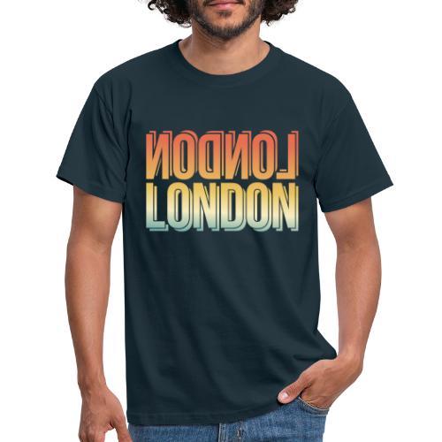 London Souvenir England Simple Name London - Männer T-Shirt
