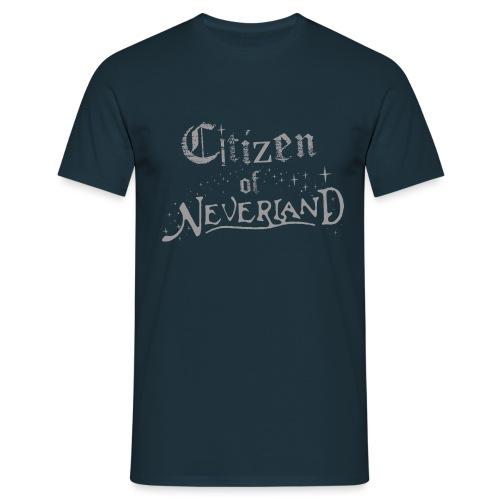 Citizen of Neverland - Men's T-Shirt