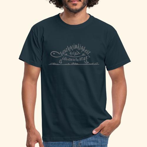 Mein Tempo - Schildkröte - Männer T-Shirt
