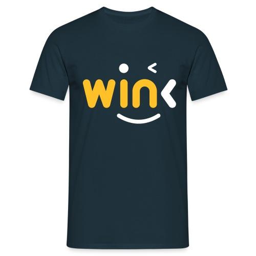 Wink Logo Merchandise - Men's T-Shirt