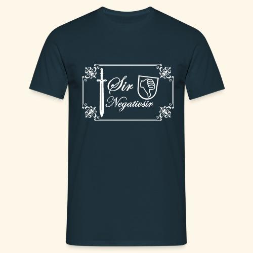 Sir Negatvsir - Männer T-Shirt