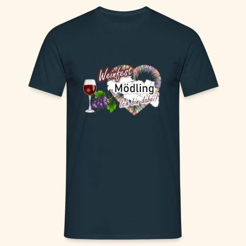 Weinfest in Mödling - Ich bin dabei! - Männer T-Shirt