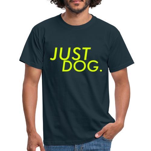 just dog WHNDGS Hundesport Agility Geschenkidee - Männer T-Shirt