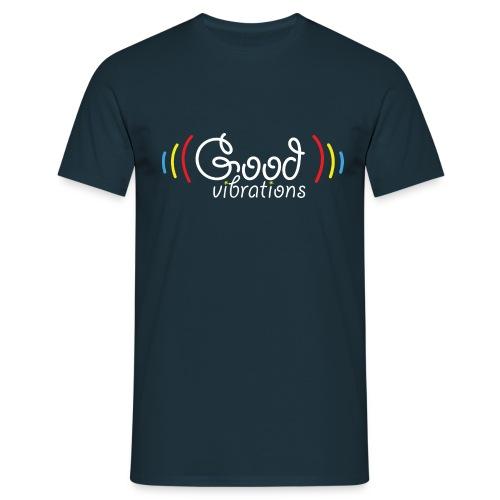 good vibs png - Men's T-Shirt