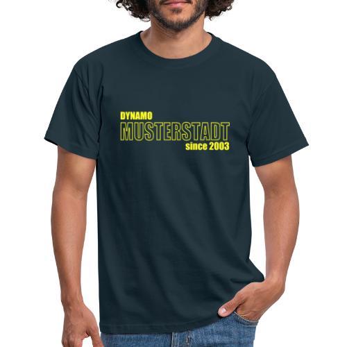 Dein Verein - Dein Logo - Männer T-Shirt