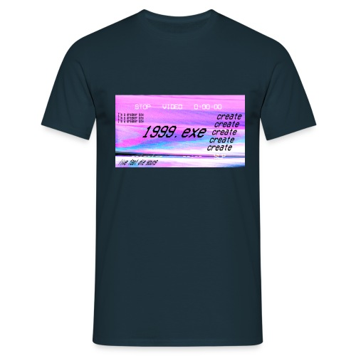 1999.exe - Camiseta hombre