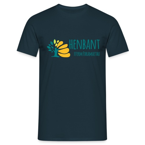 henbant logo - Men's T-Shirt