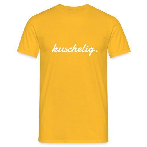 kuschelig. Frauen-Pullover - Männer T-Shirt
