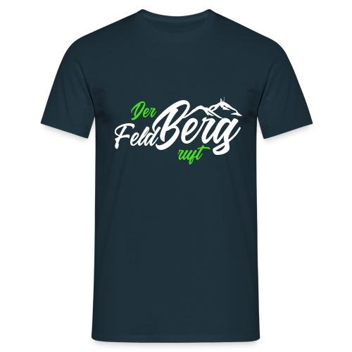 Der FeldBerg ruft grün / weiß - Männer T-Shirt