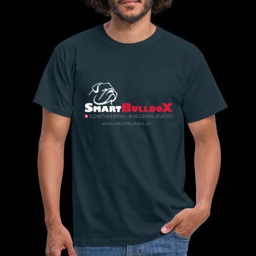 SmartBulldoX Logo Tasche www - Männer T-Shirt