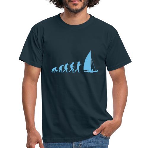 evolution sailboat military dna - Maglietta da uomo