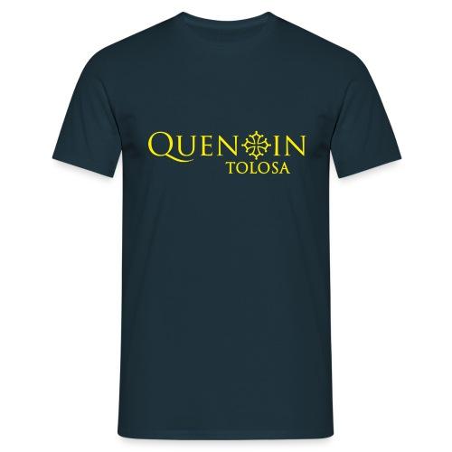 QUENTIN TOLOSA LOGO2 jaune - T-shirt Homme