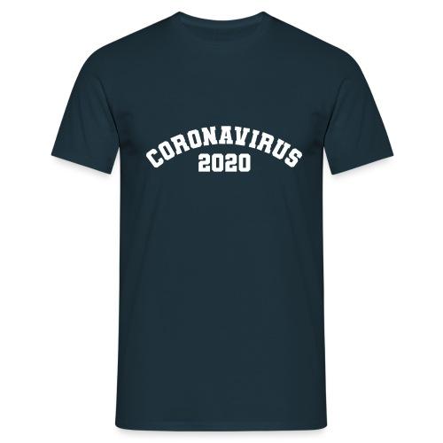 CORONAVIRUS 2020 - Camiseta hombre