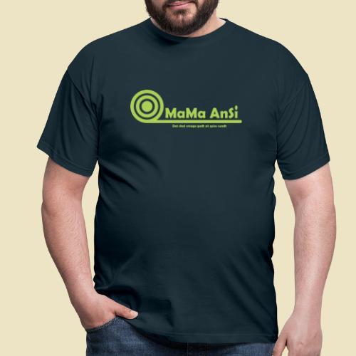 MaMa AnSi G logo - Herre-T-shirt