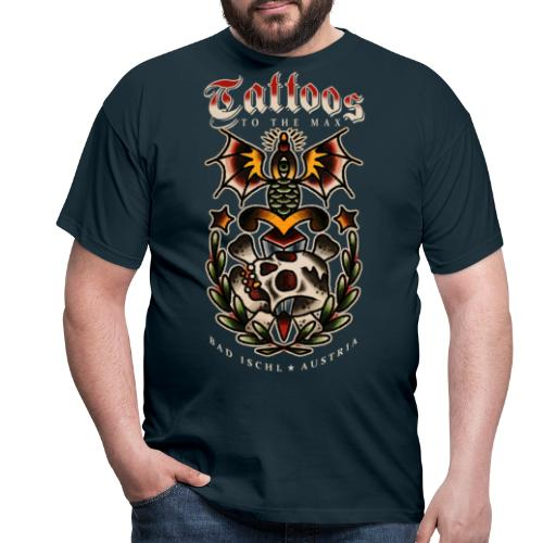 Tattoos to the Max - Dagger Skull - Männer T-Shirt