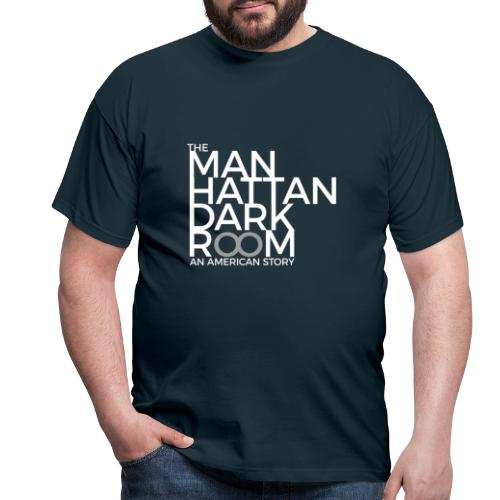 THE MANHATTAN DARKROOM BLANC GRIS - T-shirt Homme