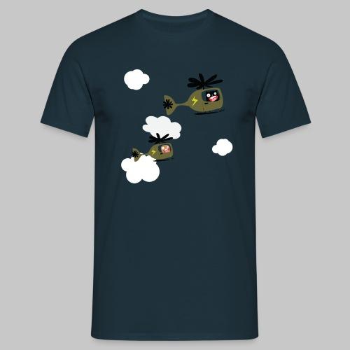Bonshommes escadrilles - T-shirt Homme