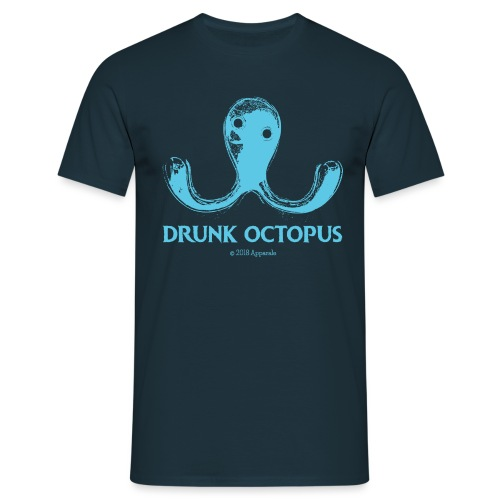 Drunk Octopus - Men's T-Shirt