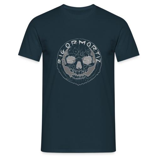 Rigormortiz Grey Design - Men's T-Shirt