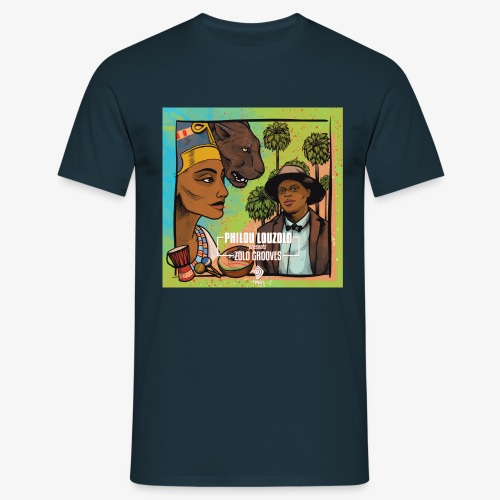 Zolo Grooves - Philou Louzolo - Men's T-Shirt