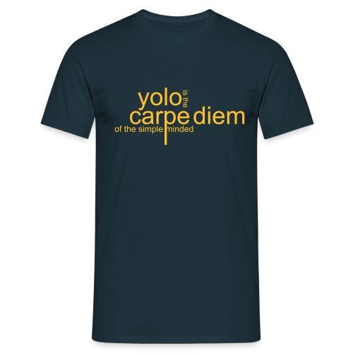 - Carpe Diem - Männer T-Shirt