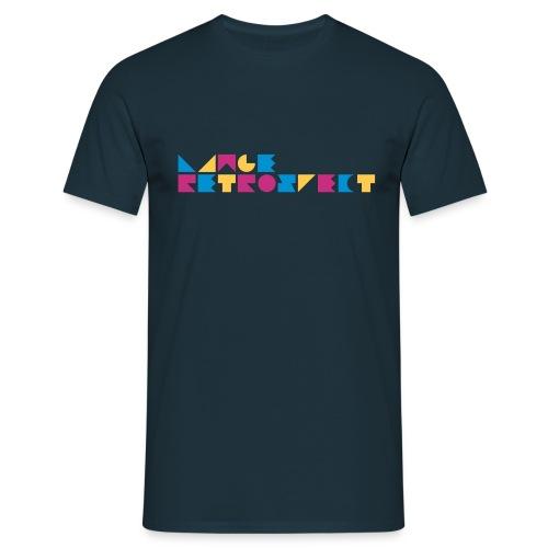 LANGE-RETROSPECT-FONT - Men's T-Shirt