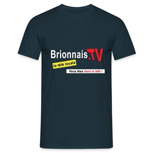 BTV logo shirt dos - T-shirt Homme